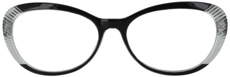 Prescription Glasses Model US72-BLACK-FRONT