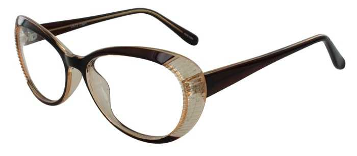 Prescription Glasses Model US72-BROWN-45