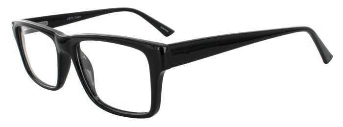 Prescription Glasses Model US73-BLACK-45