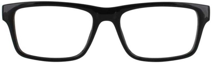 Prescription Glasses Model US73-BLACK-FRONT