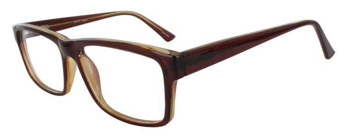 Prescription Glasses Model US73-BROWN-45