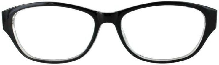 Prescription Glasses Model US74-BLACK-FRONT