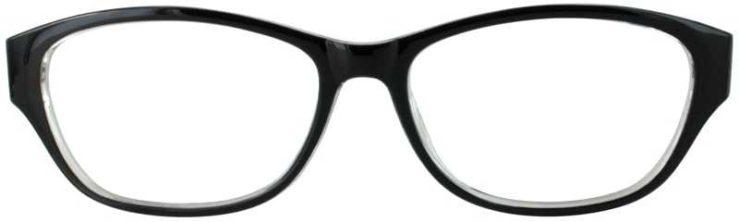 Prescription Glasses Model US74-BLACK-FRONT