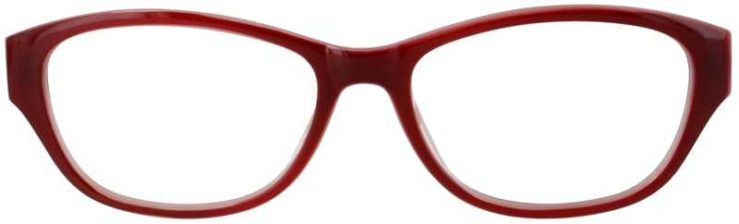 Prescription Glasses Model US74-WINE-FRONT