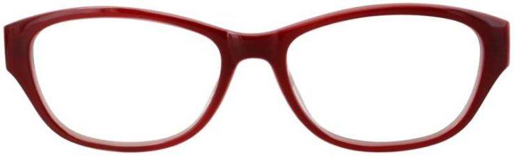 Prescription Glasses Model US74-WINE-FRONT