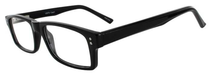 Prescription Glasses Model US75-BLACK-45