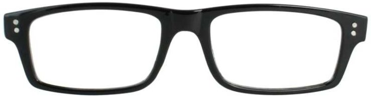 Prescription Glasses Model US75-BLACK-BLACK