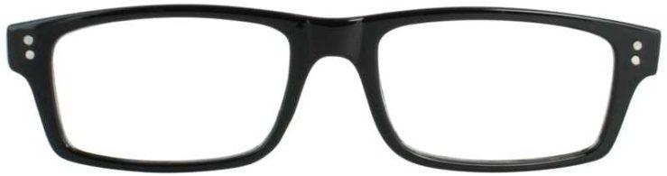 Prescription Glasses Model US75-BLACK-BLACK
