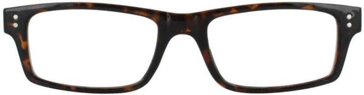 Prescription Glasses Model US75-TORTOISE-FRONT