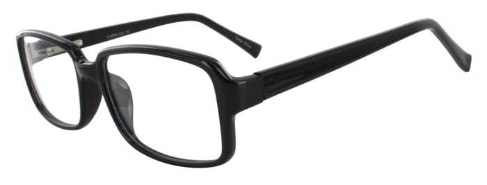 Prescription Glasses Model US76-BLACK-45