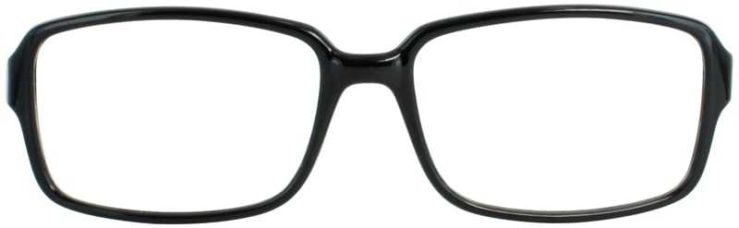 Prescription Glasses Model US76-BLACK-FRONT