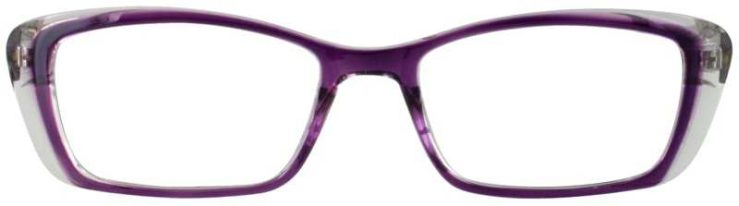 Prescription Glasses Model US77-PURPLE-FRONT