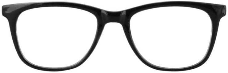 Prescription Glasses Model US78-BLACK-FRONT