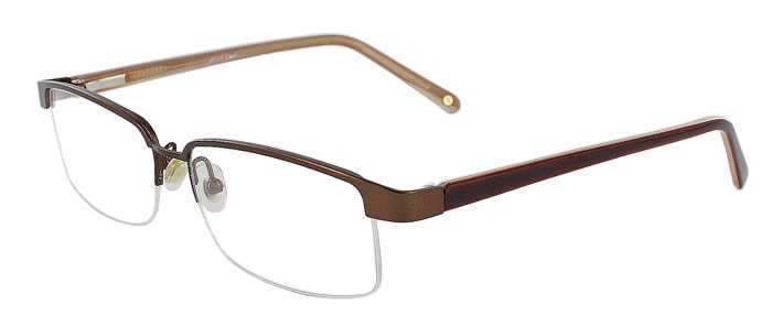 Prescription Glasses Model VP111-BROWN-45