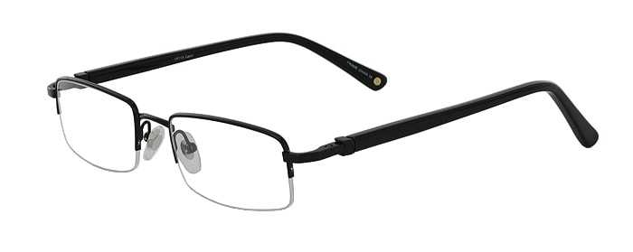 Prescription Glasses Model VP115-BLACK-45
