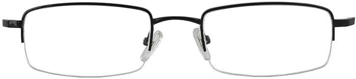 Prescription Glasses Model VP115-BLACK-FRONT