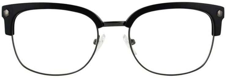 Prescription Glasses Model VP131-GUNMETAL-BLACK-FRONT