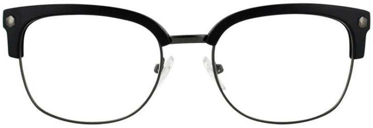 Prescription Glasses Model VP131-GUNMETAL-BLACK-FRONT