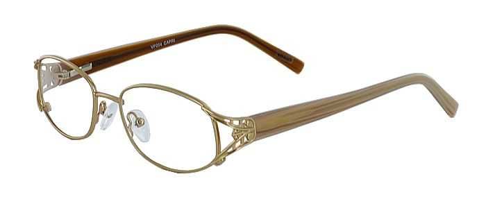 Prescription Glasses Model VP204-GOLD-45