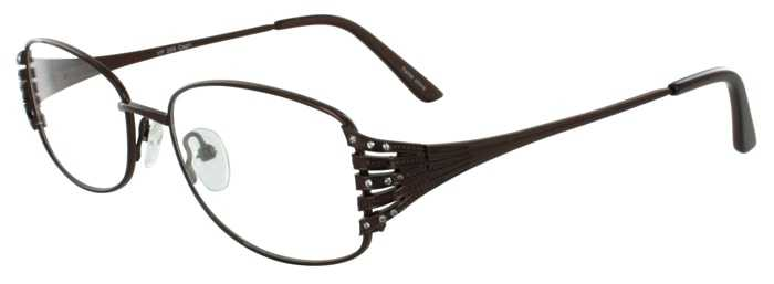 Prescription Glasses Model VP209-BROWN-45