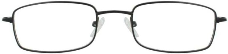 Prescription Glasses Model VS502-BLACK-FRONT
