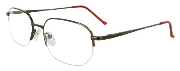 Prescription Glasses Model WINDSOR-COFFEE-45