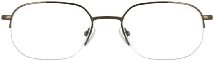 Prescription Glasses Model WINDSOR-COFFEE-FRONT