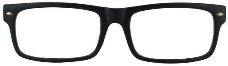 Prescription Glasses Model WISDOM-BLACK-FRONT