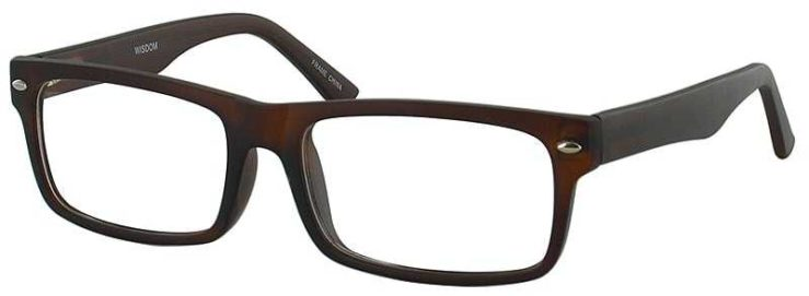 Prescription Glasses Model WISDOM-BROWN-45