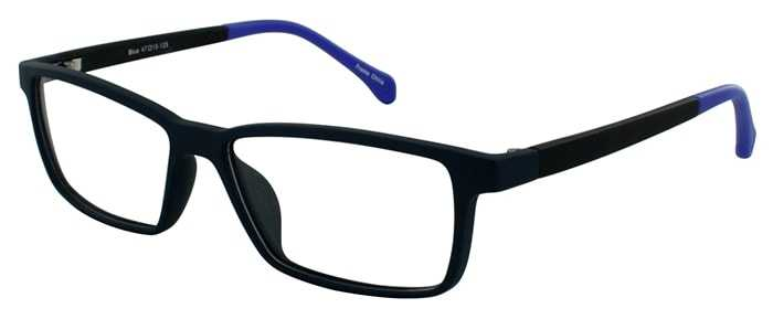 Prescription Glasses Model YOUTH-BLUE-45