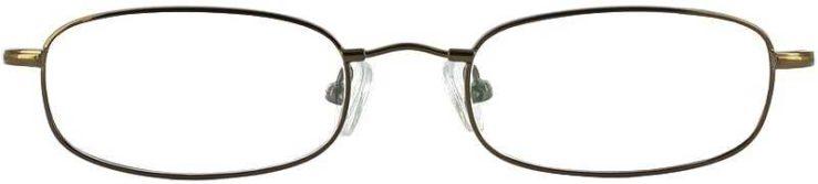 Prescription Glasses Model FX15-COFFEE-FRONT