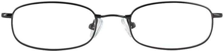 Prescription Glasses Model FX15-GUNMETAL-FRONT