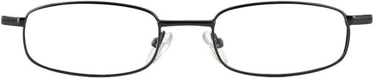 Prescription Glasses Model PT66-GUNMETAL-FRONT