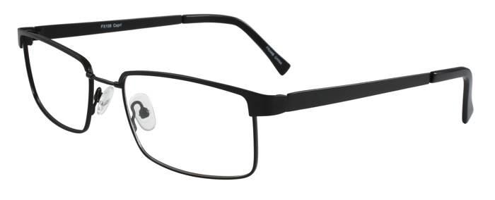 Prescription Glasses Model FX106-BLACK-45