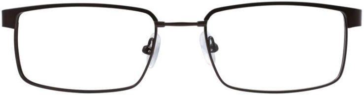 Prescription Glasses Model FX106-BROWN-FRONT