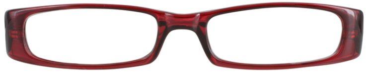 Prescription Glasses Model US57-BURGUNDY-FRONT