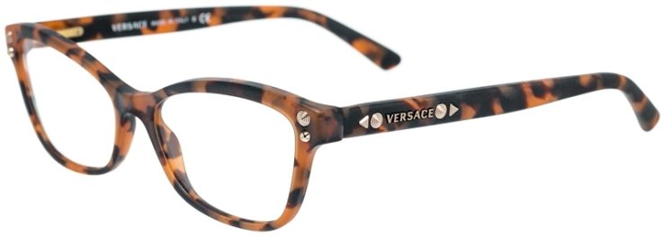 Versace Prescription Glasses Model 3208-5133-45