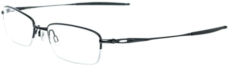 Oakley Prescription Glasses Model SPOKE0-5-POLISHED-BLACK-45