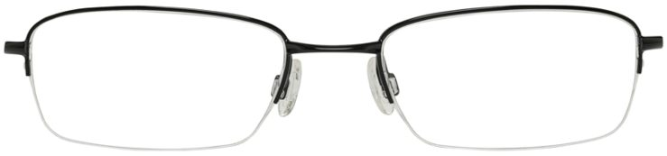 Oakley Prescription Glasses Model SPOKE0-5-POLISHED-BLACK-FRONT