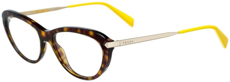 Prada Prescription Glasses Model VPR08R-2AU-101-45