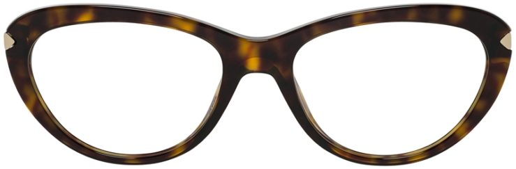 Prada Prescription Glasses Model VPR08R-2AU-101-FRONT