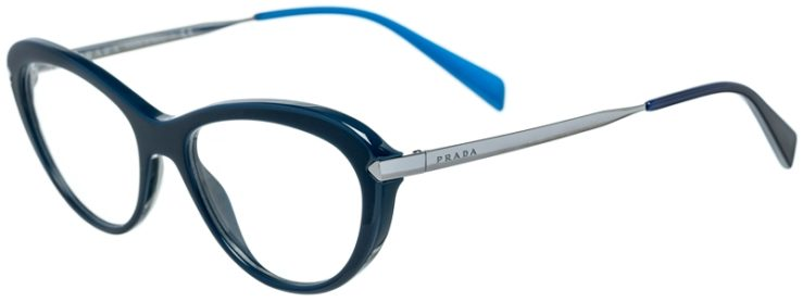 Prada Prescription Glasses Model VPR08R-TFM-101-45