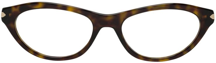 Prada Prescription Glasses Model VPR18P-2AU-101-FRONT