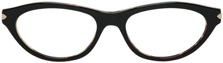 Prada Prescription Glasses Model VPR18P-NAI-101-FRONT
