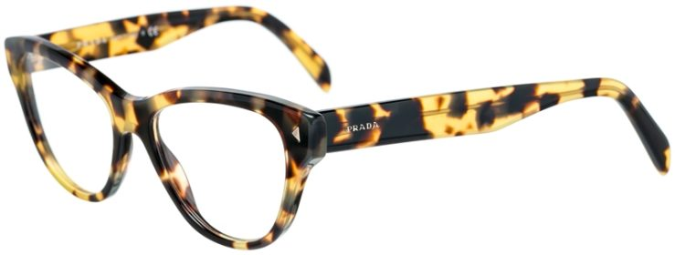 Prada Prescription Glasses Model VPR23S-7S0-101-45