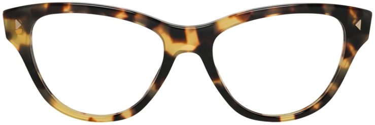 Prada Prescription Glasses Model VPR23S-7S0-101-FRONT