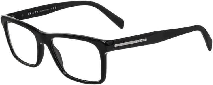 Prada Prescription Glasses Model VPR06R-1AB-101-45