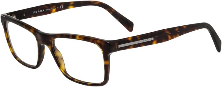 Prada Prescription Glasses Model VPR06R-HAQ-101-45