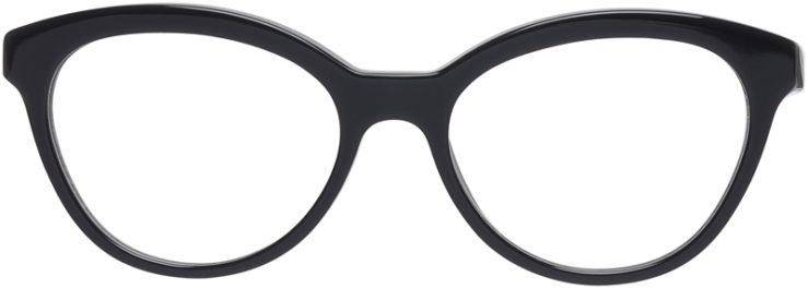 Prada Prescription Glasses Model VPR11R-TFN-101-FRONT