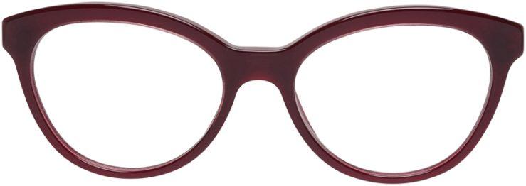 Prada Prescription Glasses Model VPR11R-UAN-101-FRONT
